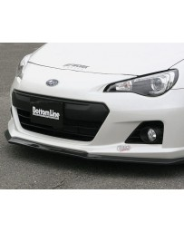 ChargeSpeed Bottom Line Carbon Front Lip Subaru BRZ 13+
