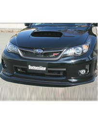 ChargeSpeed Bottom Line Type 1 Carbon Lip Kit Subaru WRX STI 4 Door 11-12