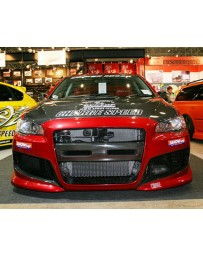 ChargeSpeed Carbon Side Duct Cowl Mitsubishi EVO X 09-10