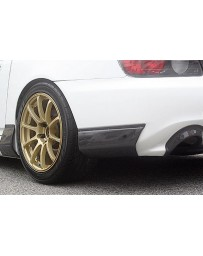 ChargeSpeed Carbon Rear Bumper Cowl Honda S2000 AP2 05-08