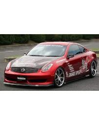ChargeSpeed Bottom Line FRP Full Lip Kit Infiniti G35 Coupe 06-07