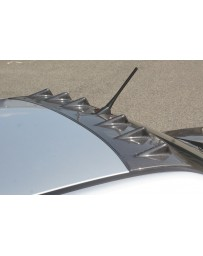 ChargeSpeed Carbon Roof Fin w/ Antenna Hole Mitsubishi EVO VIII IX 03-07