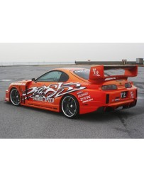 ChargeSpeed GT Wide Body Rear Bumper w/o Diffuser Toyota Supra JZA80 93-98