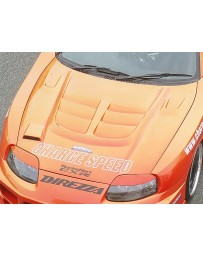 ChargeSpeed FRP Vented Engine Hood Toyota Supra JZA80 93-98