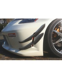 ChargeSpeed FRP Lower Canards Nissan 350Z 03-08