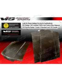 VIS Racing 1995-2004 Gmc Jimmy Fiber Glass Ram Air Hood
