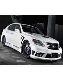 Artisan Spirits Verse High-Spec Line Front Bumper Lexus LS600hL 10-11