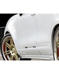 Artisan Spirits Black Label 20mm Front 25mm Rear Over Fender Kit Porsche Cayenne Turbo 11-17
