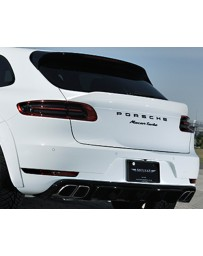Artisan Spirits Black Label Rear Gate Spoiler Porsche Macan Turbo 15-18