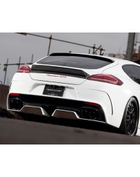 Artisan Spirits Sports Line ARS Carbon Rear Bumper Kit Porsche 970 Panamera GTS Turbo 14-16