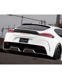 Artisan Spirits Sports Line ARS Carbon Rear Bumper Kit Porsche 970 Panamera GTS Turbo 14-16
