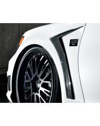 Artisan Spirits Carbon Fiber Sports Full Fender Set Lexus LS460 10-11