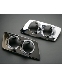 Artisan Spirits Chrome Fog Light Cover Set Lexus IS-F 08-14