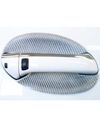 Artisan Spirits Silver Carbon Fiber Door Handle Covers Mercedes-Benz SL65 AMG 05-08