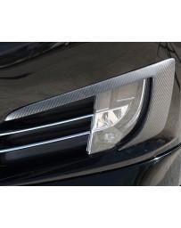 Artisan Spirits Carbon Fiber Fog Light Covers Tesla Model S 13-19