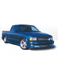 VIS Racing 1996-1997 S-10 / Sonoma Ext. W/3 Door Custom Style Kit W/Bumper