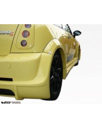 VIS Racing 2002-2006 Bmw Mini Cooper S 2Dr Max Fender Flares Set