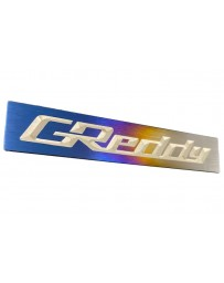 Greddy Optional Titanium GReddy Emblem
