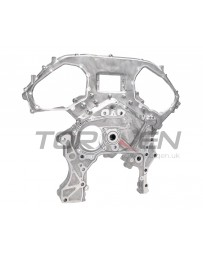 370z Nissan OEM Timing Chain Engine Cover, Front