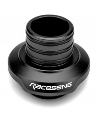 Raceseng Shift Boot Collar/Retainer (For Threaded Adapters/No Big Bore/No Rev. Lockout) - Black