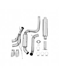 Focus ST 2013+ MBRP T409 Stainless Steel Cat Back Exhaust Systems