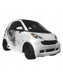 VIS Racing 2008-2011 Smart Fr2 V-Max Front Lip