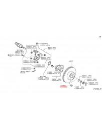 R35 GT-R Nissan OEM Plug Inspection Hole