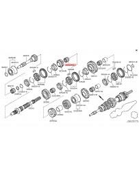 350z Z33 Nissan OEM Bearing Needle Main Shaft
