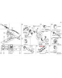 R35 GT-R Nissan OEM Vehicle Dynamics Control Switch 09-11