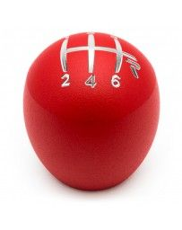 Raceseng Slammer Shift Knob (Gate 3 Engraving) M10x1.25mm Adapter - Red Texture