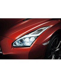 R35 GT-R Nissan OEM Headlight Assembly, Lightning Bolt LED, LH 15-16