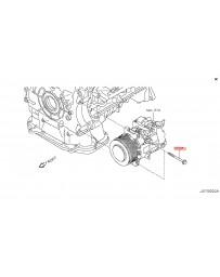 370z Z34 Nissan OEM A/C Compressor Mounting Bolt