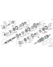 370z Z34 Nissan OEM Hub & Sleeve Set-Reverse