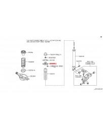 370z Z34 Nissan OEM Insulator Assy Shock Absorber Mounting