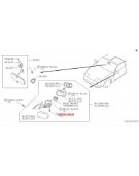 300zx Z32 Nissan OEM Screw