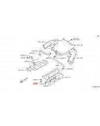 370z Z34 Nissan OEM 370Z PCV Hose Valve Cover to Intake Tube LH 10-12