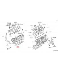 370z Z34 Nissan OEM Head Gasket, VQ37VHR RH