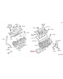 370z Z34 Nissan OEM Head Gasket, VQ37VHR LH