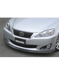 ChargeSpeed Bottom Line Front Lip Carbon (Japanese CFRP) Lexus IS250/IS350 09-10