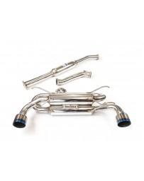 Toyota GT86/Subaru BRZ Invidia Gemini R400 Cat-Back Exhaust System- Titanium Tips
