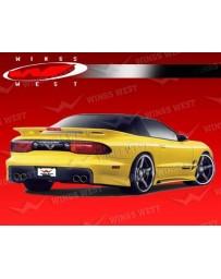 VIS Racing 1998-2002 Pontiac Trans Am Jpc Rear Spats Polyurethane