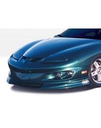 VIS Racing 1998-2002 Pontiac Firebird W-Typ Front Lip Polyurethane