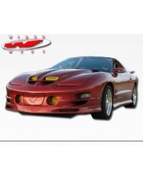 VIS Racing 1998-2002 Pontiac Trans Am W-Typ Front Lip Polyurethane