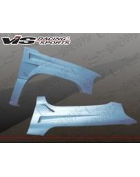 VIS Racing 2000-2006 Gmc Yukon 4Dr Bullet Style Fenders
