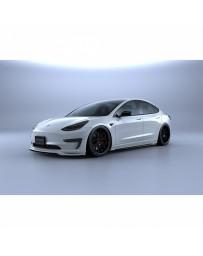 Artisan Spirits Black Label Front Bumper Garnish (CFRP) - Tesla Model 3 2017+