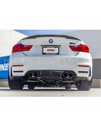 ARK Performance DT-S Cat-Back Exhaust System Polished Dual Tip BMW M3 Sedan M4 Coupe 14+ S55 F80, F82