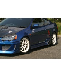ChargeSpeed 02-06 RSX DC-5 Type-2 Side Skirts (Pair)