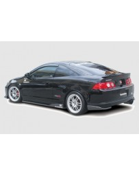 ChargeSpeed 05-06 RSX Kouki Bottom Line Carbon Rear Caps
