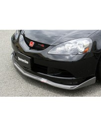ChargeSpeed 05-06 RSX DC-5 Kouki Bottom Line Carbon Front Lip