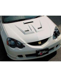 ChargeSpeed 02-06 RSX DC-5 FRP Vented Hood (Japanese FRP)